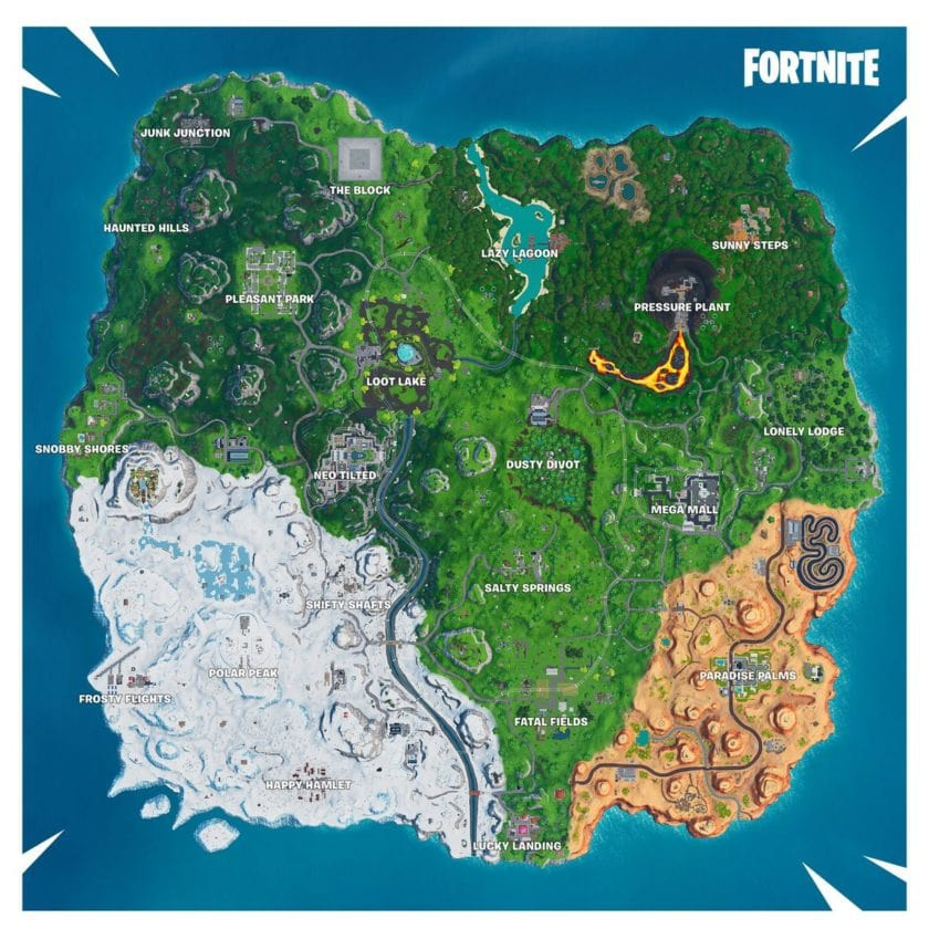 fortnite vending machine locations season 9-3