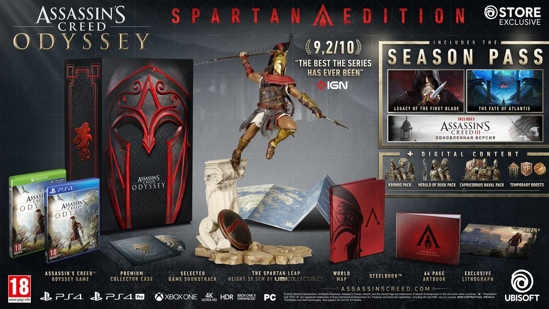 assassin's creed odyssey different editions-0