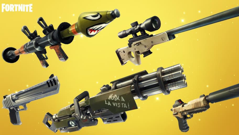 fortnite deal damage with different weapons-0