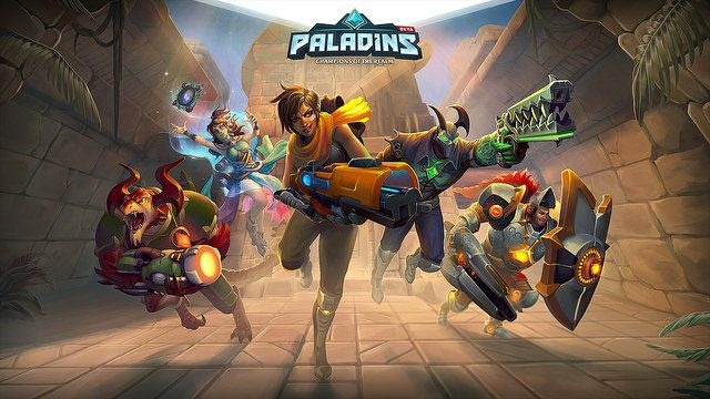 when did paladins come out-2