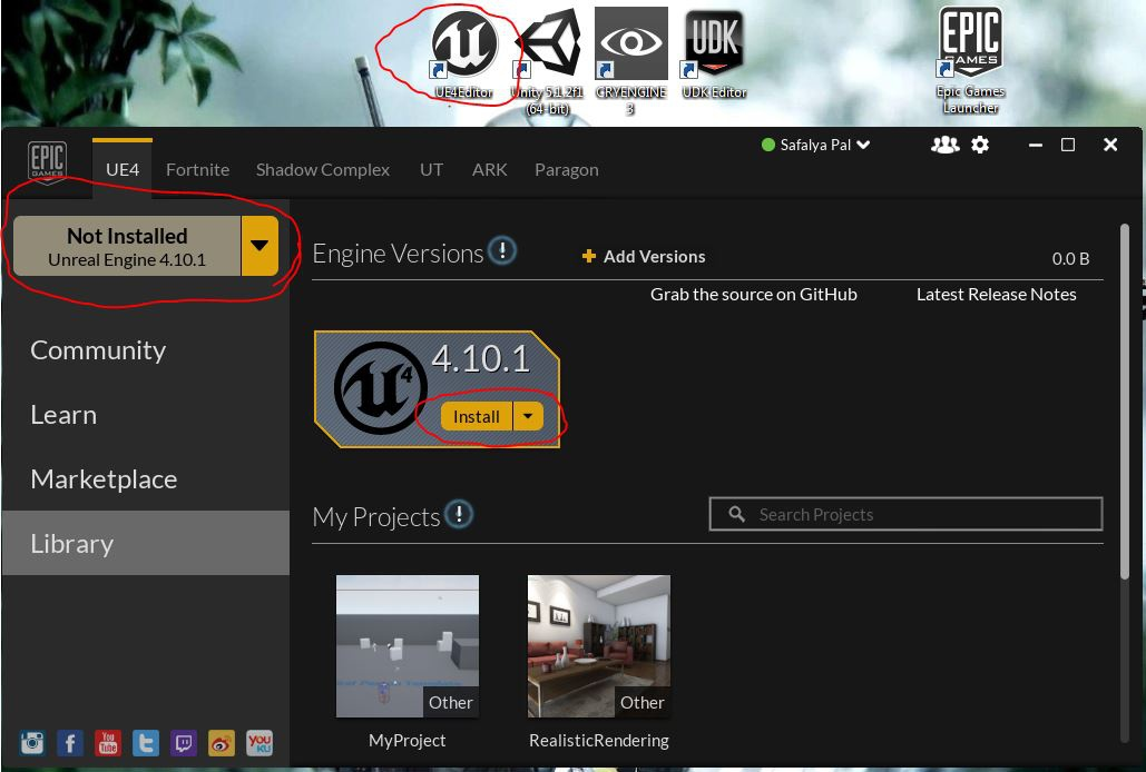 download epic games launcher-5