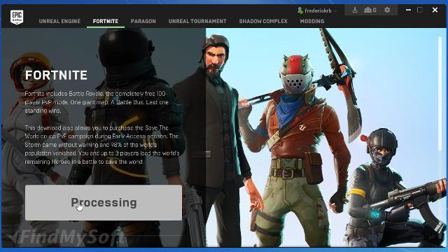 download epic games launcher-7