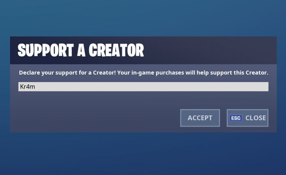 epic support a creator-0