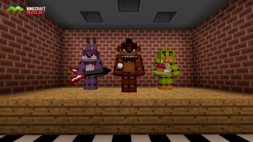 five nights at freddy's map-1