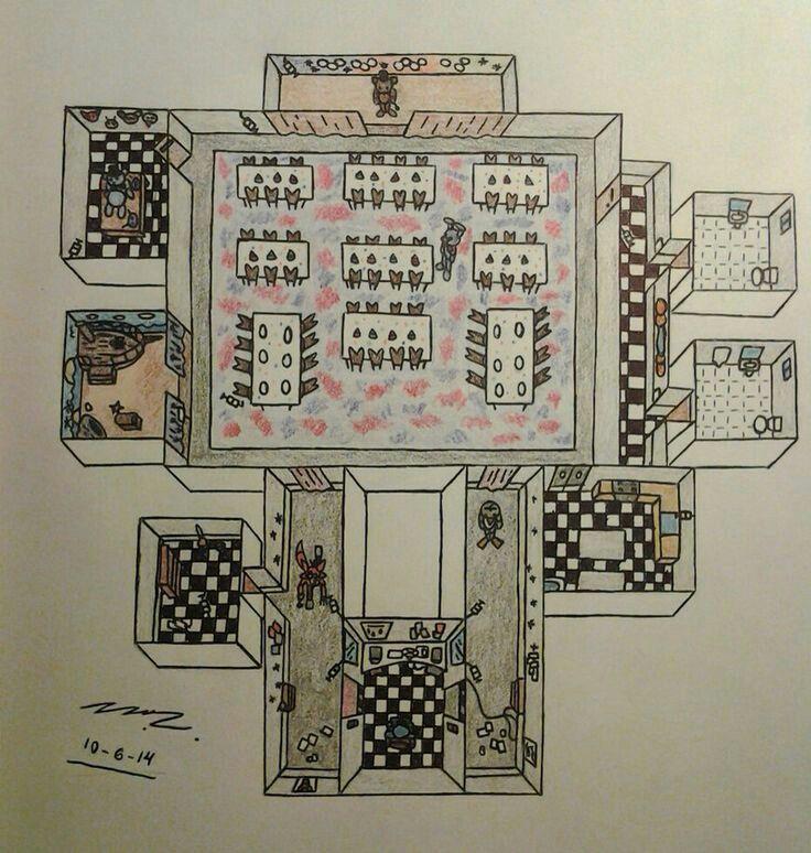 five nights at freddy's map-3