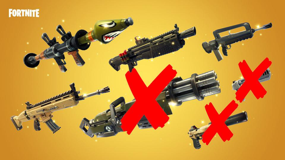 all weapons in fortnite-0