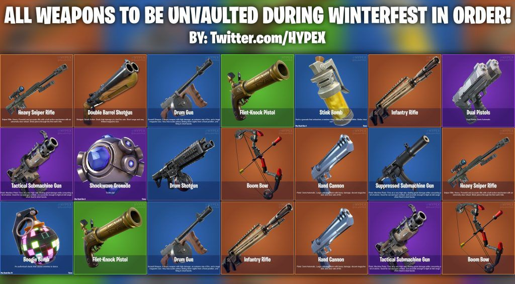 all weapons in fortnite-1