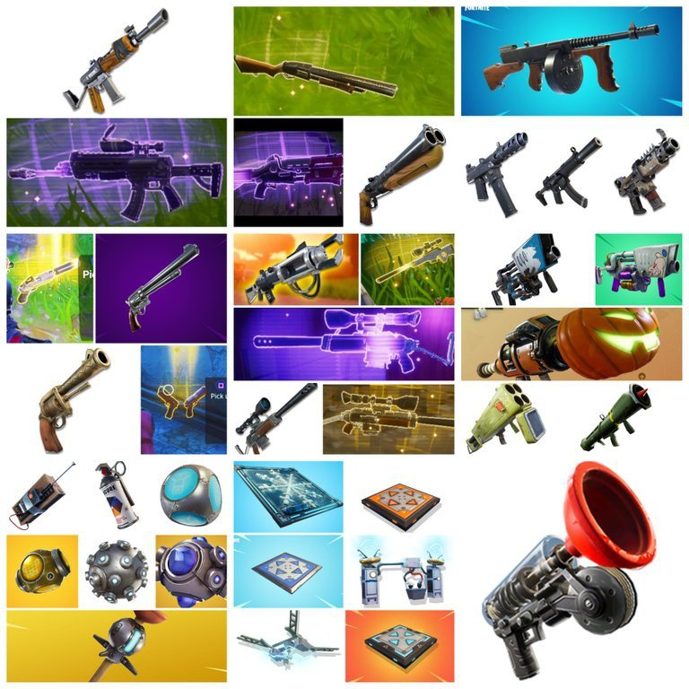 all weapons in fortnite-2