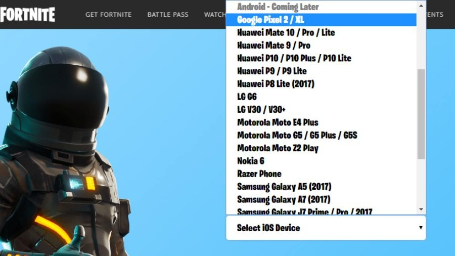 fortnite android compatible devices-2