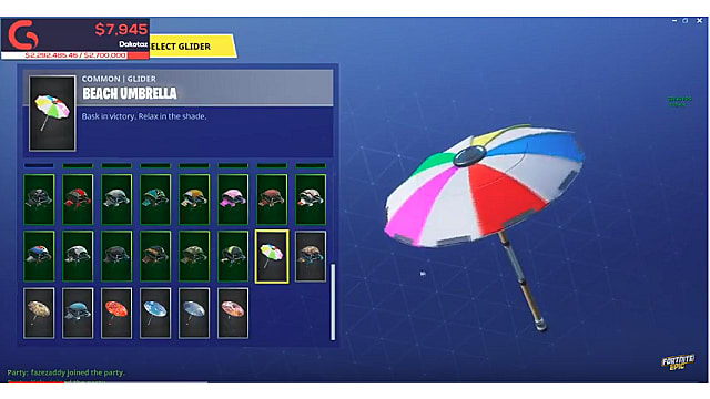fortnite season 7 umbrella-8