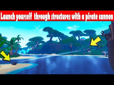 launch yourself through structures with a pirate cannon-7