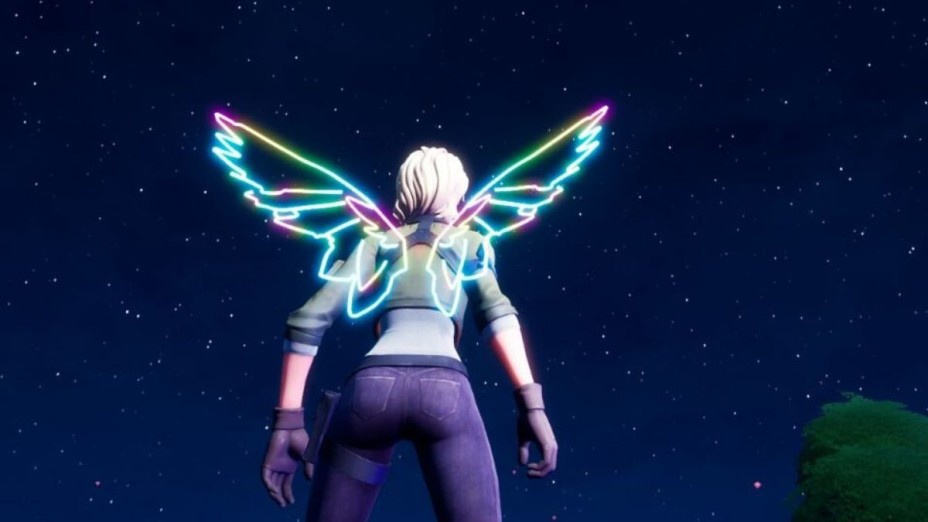 how to get neon wings fortnite-3