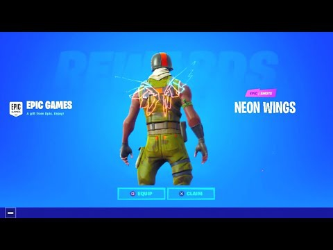 how to get neon wings fortnite-6
