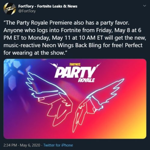 how to get neon wings fortnite-7