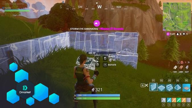 fortnite how to build fast-5