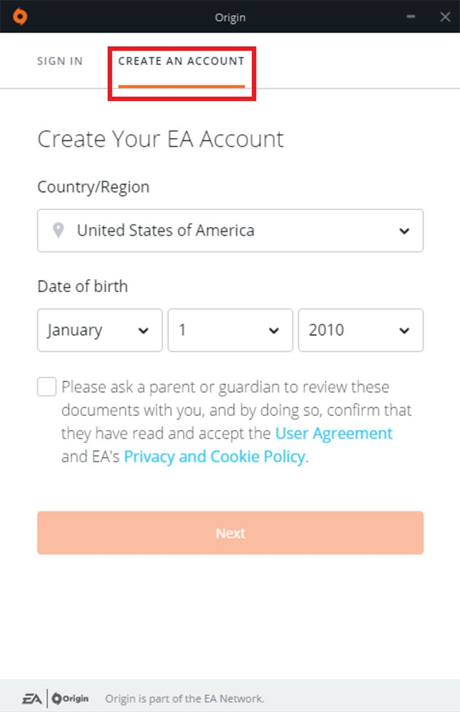 how to connect ea account to ps4-7