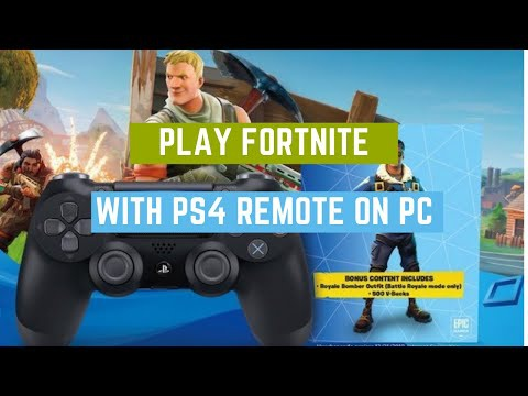 how to use ps4 controller on pc fortnite-2