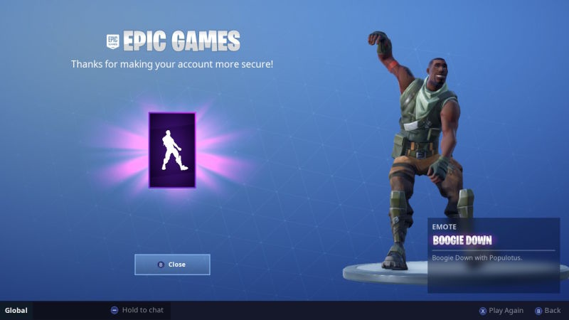 epic games two factor-7