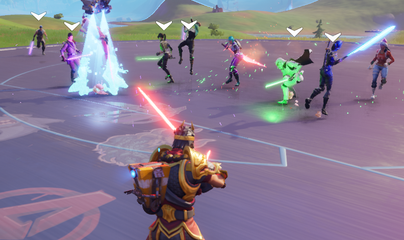where to find lightsabers in fortnite-4