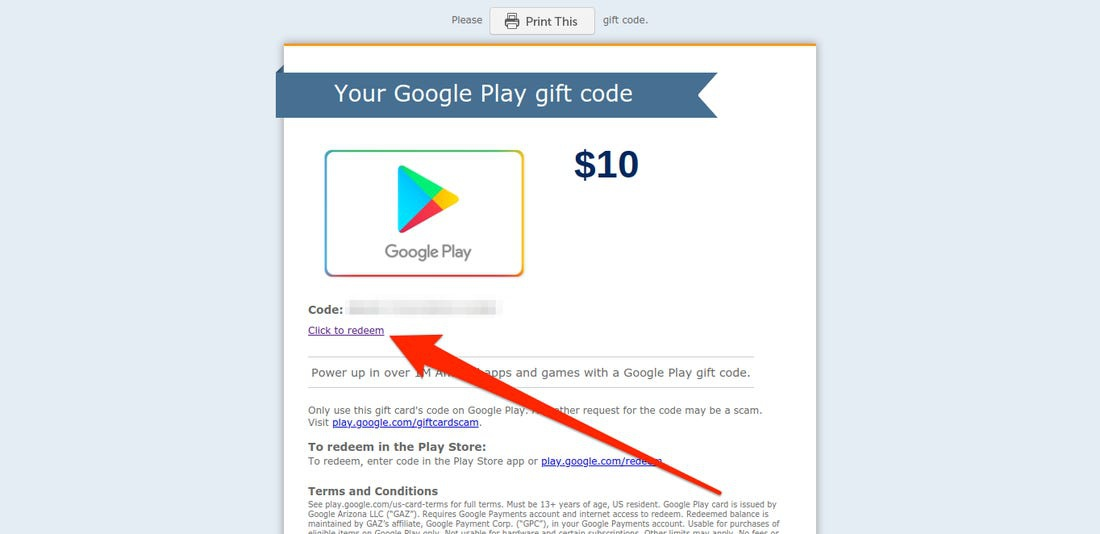 what is my redeem code-3