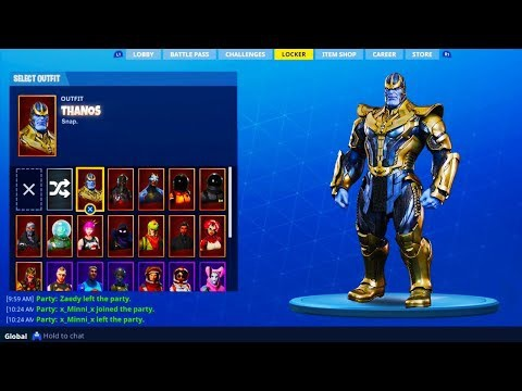 how to get thanos in fortnite-0