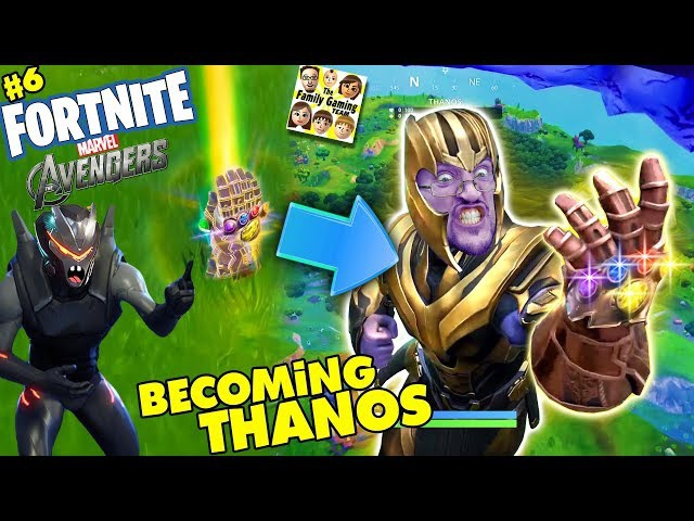 how to get thanos in fortnite-1