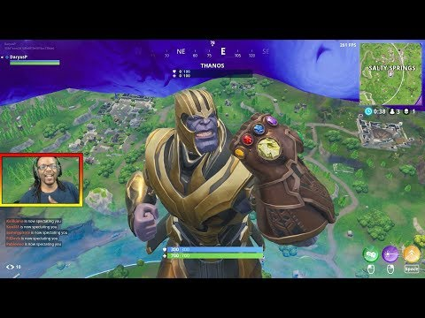 how to get thanos in fortnite-3