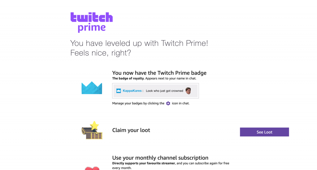 do you get twitch prime with amazon prime-5