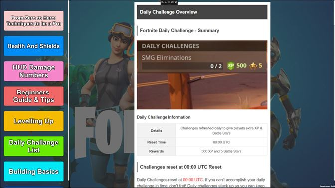 fortnite daily challenge reset time-7