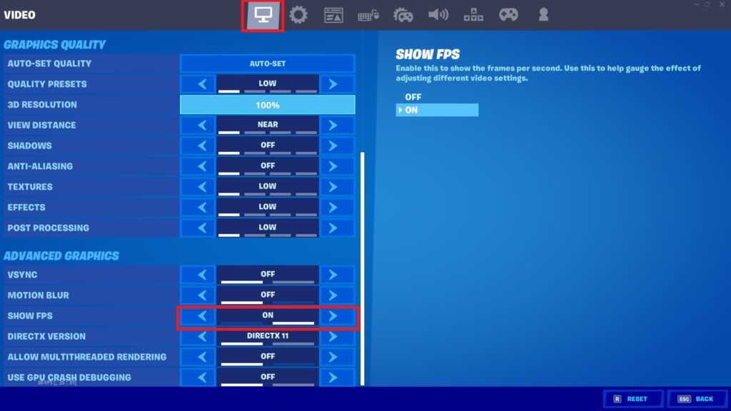 how to show ping in fortnite pc-8