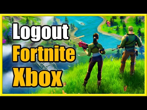 how to logout of fortnite on xbox-1