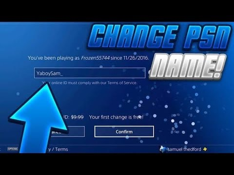 how to change your gamertag on ps4-0