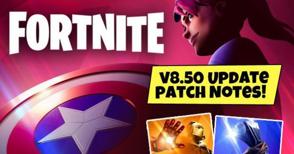 fortnite 8.50 patch notes-7