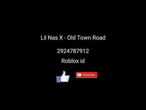 roblox id for old town road-0