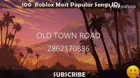 roblox id for old town road-2
