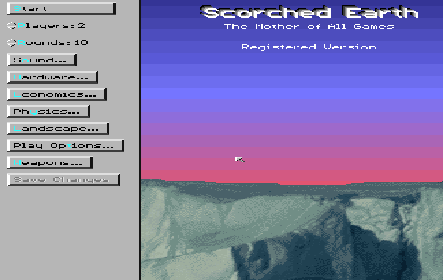 scorched earth (video game)-0