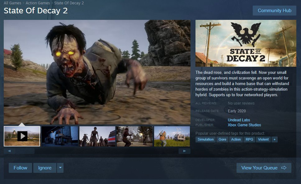steam state of decay 2-1
