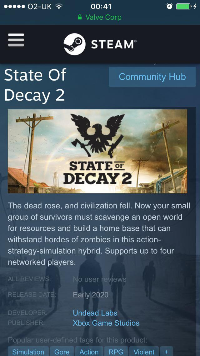 steam state of decay 2-4