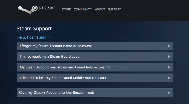 can't sign into steam-7