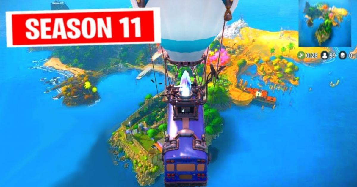 when does fortnite season 11 start-5