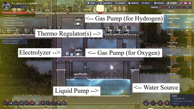 oxygen not included temperature-0