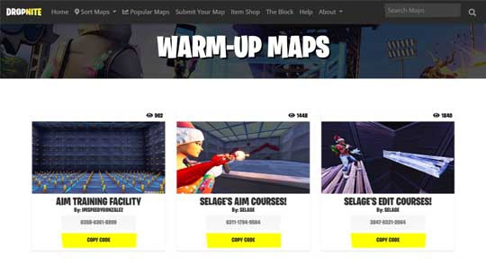 fortnite warm up course-1