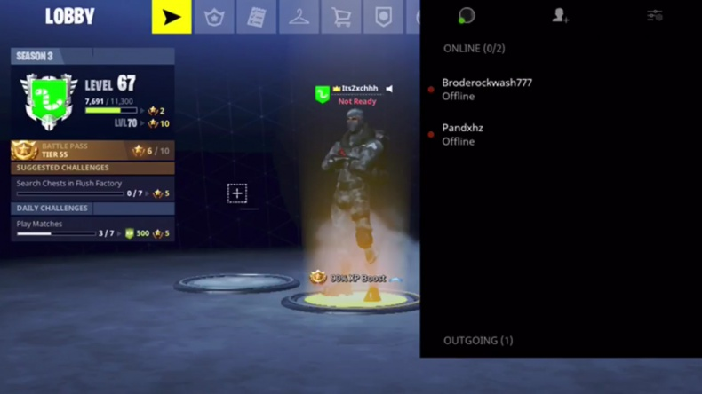 how to add pc players on ps4 fortnite-1