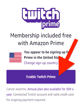 is twitch prime included with amazon prime-4