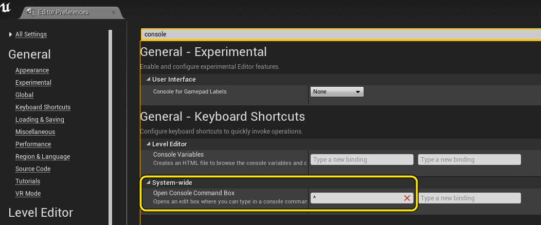 unreal engine console commands-9