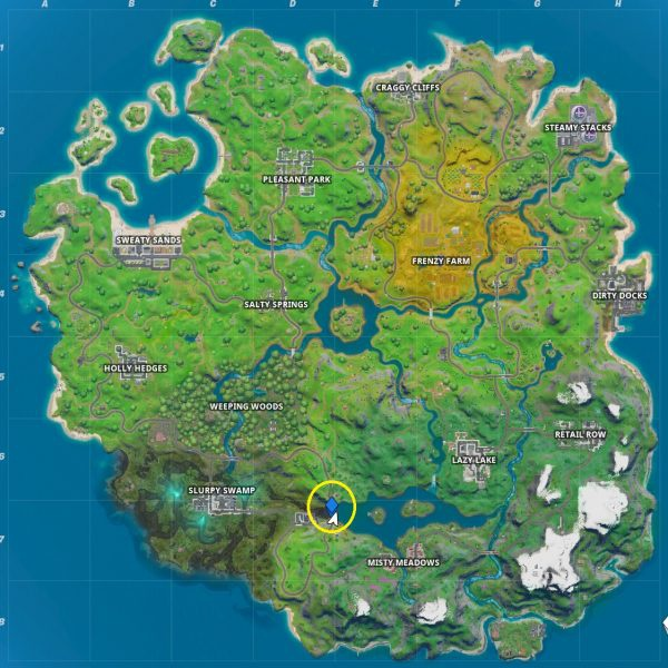 where is the n in fortnite chapter 2-4