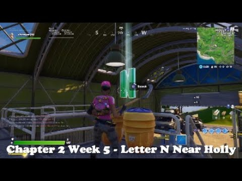 where is the n in fortnite chapter 2-5