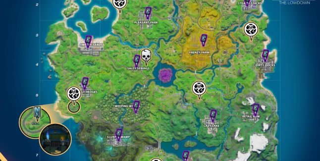 where is the n in fortnite chapter 2-8