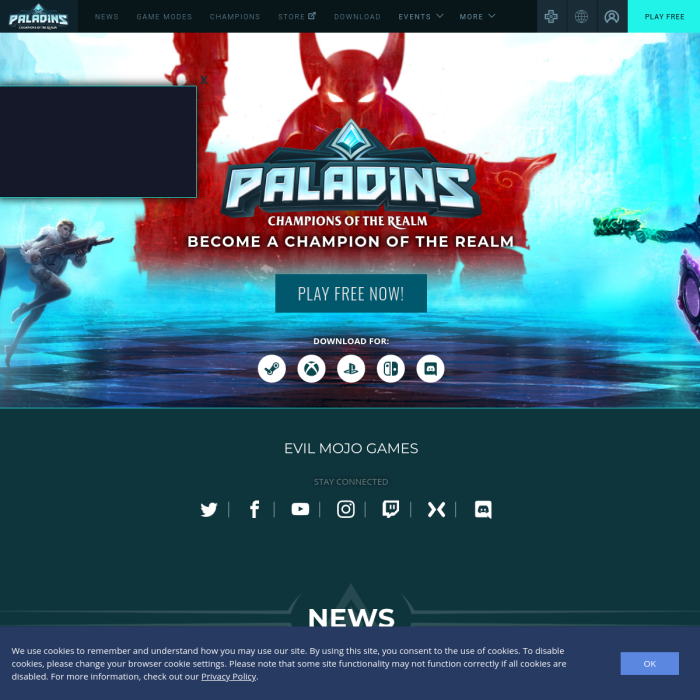 how many people play paladins-2