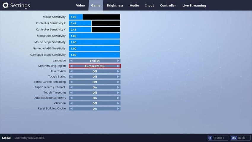 why is my ping so high in fortnite-0